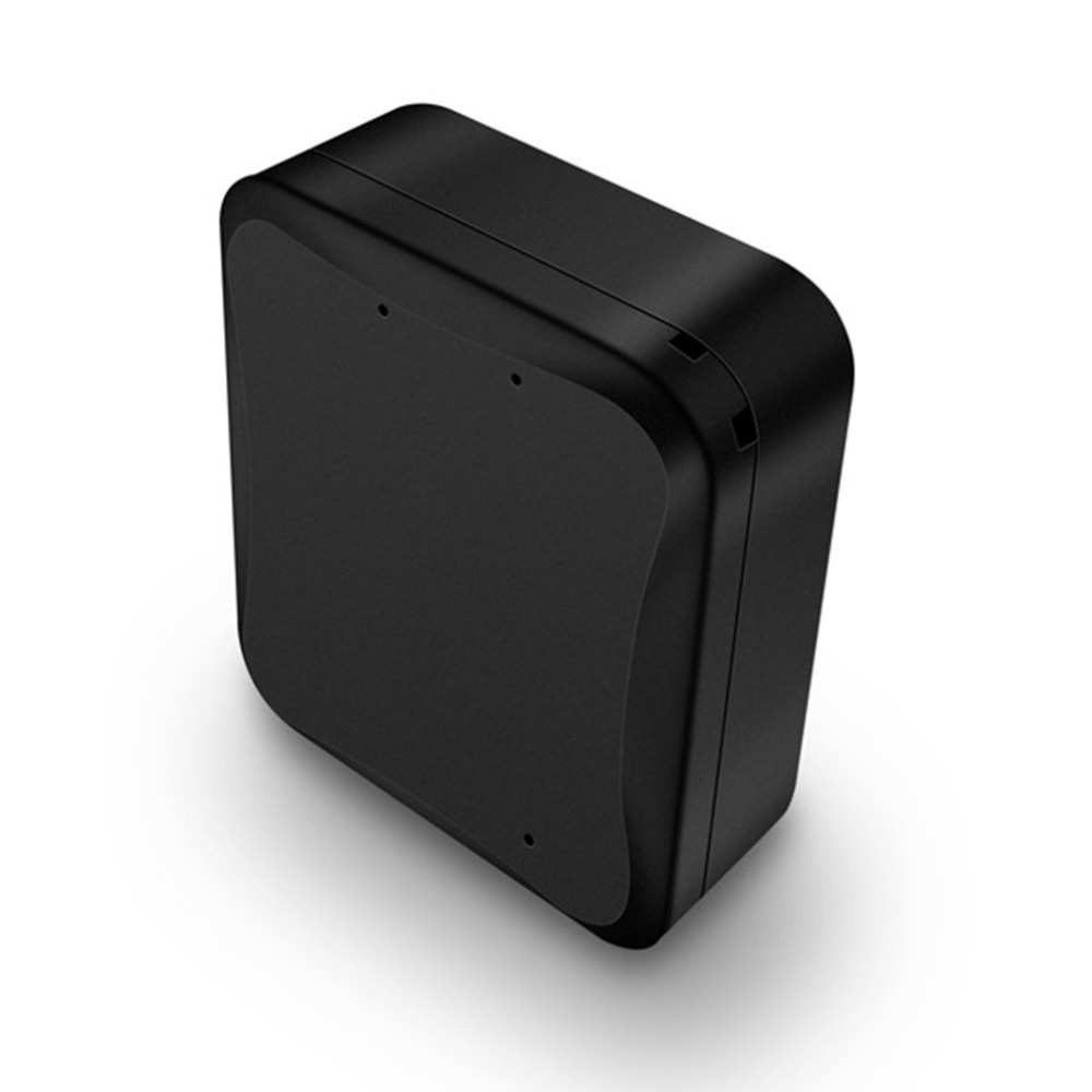 Mini Portable GPS Tracker Vehicle Tracker Waterproof Wifi GPS Locator Magnet Long Standby Time Real Time LBS Positioning gt06 mini gps vehicle tracker black
