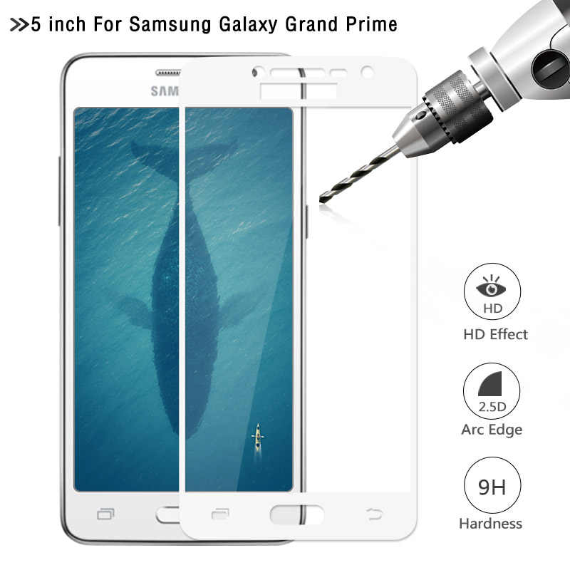 For Samsung Galaxy Grand Prime Tempered Glass Screen Protector 2.5D 9H Safety Protective Film For Galaxy G530H G530M G531H G531