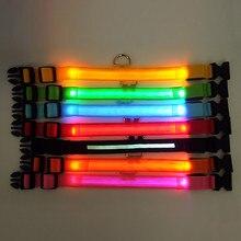 Świecąca obroża dla psa LED