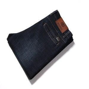 Image 4 - 2017 autunno Inverno Addensare Smart Casual Jeans di Modo Degli Uomini Del Denim Dei Pantaloni di Marca di Abbigliamento 30 42 Jeans 327B
