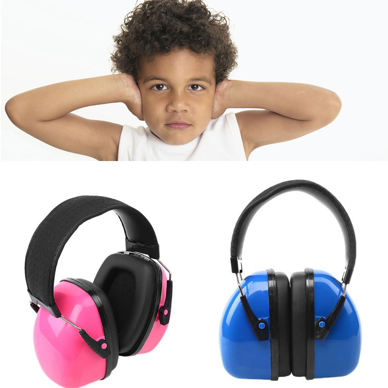Children Ear Protector Anti Noise Kids Hearing Protection Earmuffs Soundproof Headphone Shape Ear Protector Ear Muff