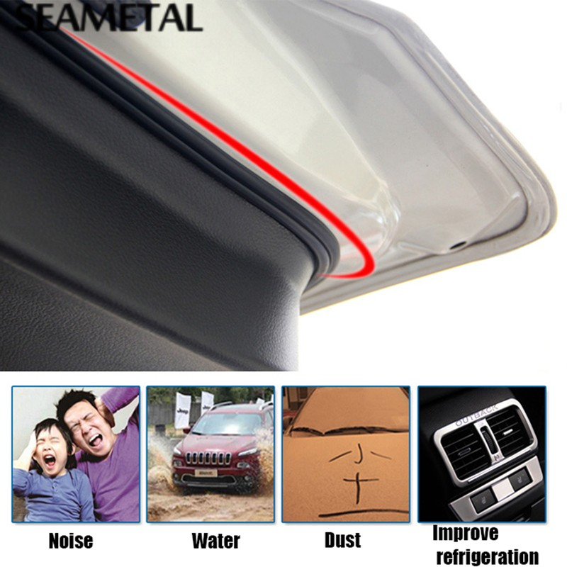 Car-Styling-4-5Meter-Usal-Trunk-Door-Edge-Rubber-Soundproofing-Sealing-Strips-3D-Car-Sticker-Auto