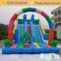 Biggors inflable Al Aire Libre de Gran Colorido Diapositiva Diapositiva Seca Inflable para Niños y Adultos el Envío por Vía Marítima