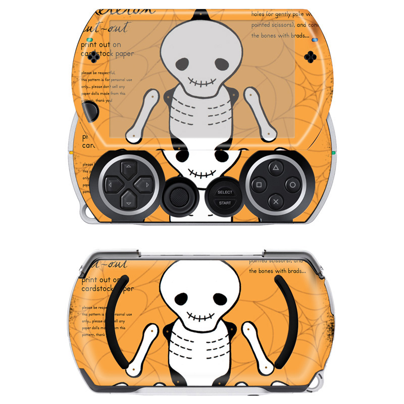 US $2 38 |Top Sale skull skin sticker vinyl skin decals for Sony PSP GO  skins Stickers for PSPGO Game Accessories-in Stickers from Consumer
