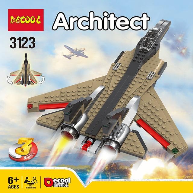 سريع الطيارون 3 في 1 ألعاب مكعبات البناء 4953 الخالق