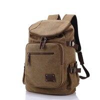 High Quality Men Backpack Zipper Solid Men S Travel Bags Canvas Bag Mochila Masculina Bolsa Sport