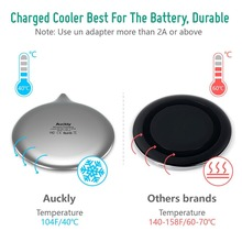 Fast Wireless Charger for iPhone & Samsung Gal