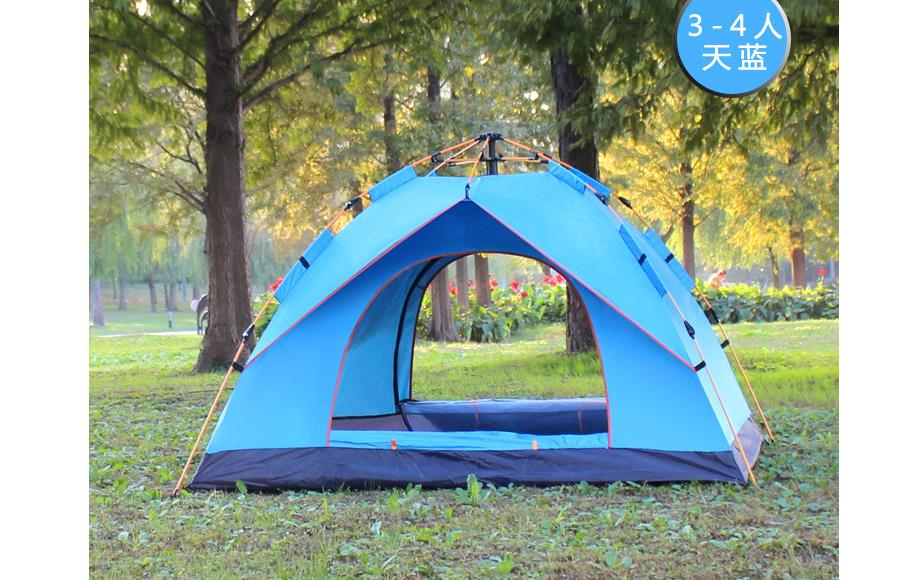 3 4 Person Oudoor wild tents Ultralight Camping Tent 4 ...
