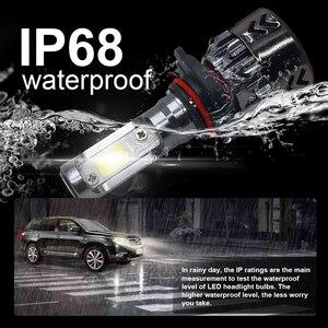 Image 4 - Roadsun H4 LED H7 سيارة العلوي رقائق البوليفيين البسيطة حجم H11 LED H1 9005 HB3 9006 HB4 10000LM 60W 6000K مصباح تلقائي سيارة التصميم 12V