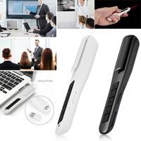 High Quality USB Wireless Multi function Teaching Speech Pen PPT Projection Pointer Flip Pen