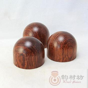Palo de rosa wood cannonading shock foot cone 43mm Large tube amplifier before and after the level