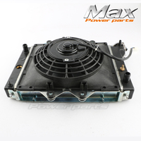 200cc 250CC Water Cooling Engine Cooler Radiator Cooling with Fans 12v fan for Motorcycle Motor Quad 4x4 ATV UTV Parts