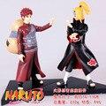 2 Pçs/set Akatsuki Gaara Naruto Thitara Pegar Gaara Boneca de Brinquedo Modelo Coleção Figuras de Ação Minifigures Mini Kids Presentes # F