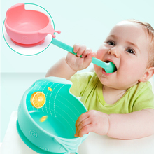 Baby Bowls Plate Tableware Children Food Container Placemat Dishes Infant Feeding Cup Child Silicone Kids Feed Plate