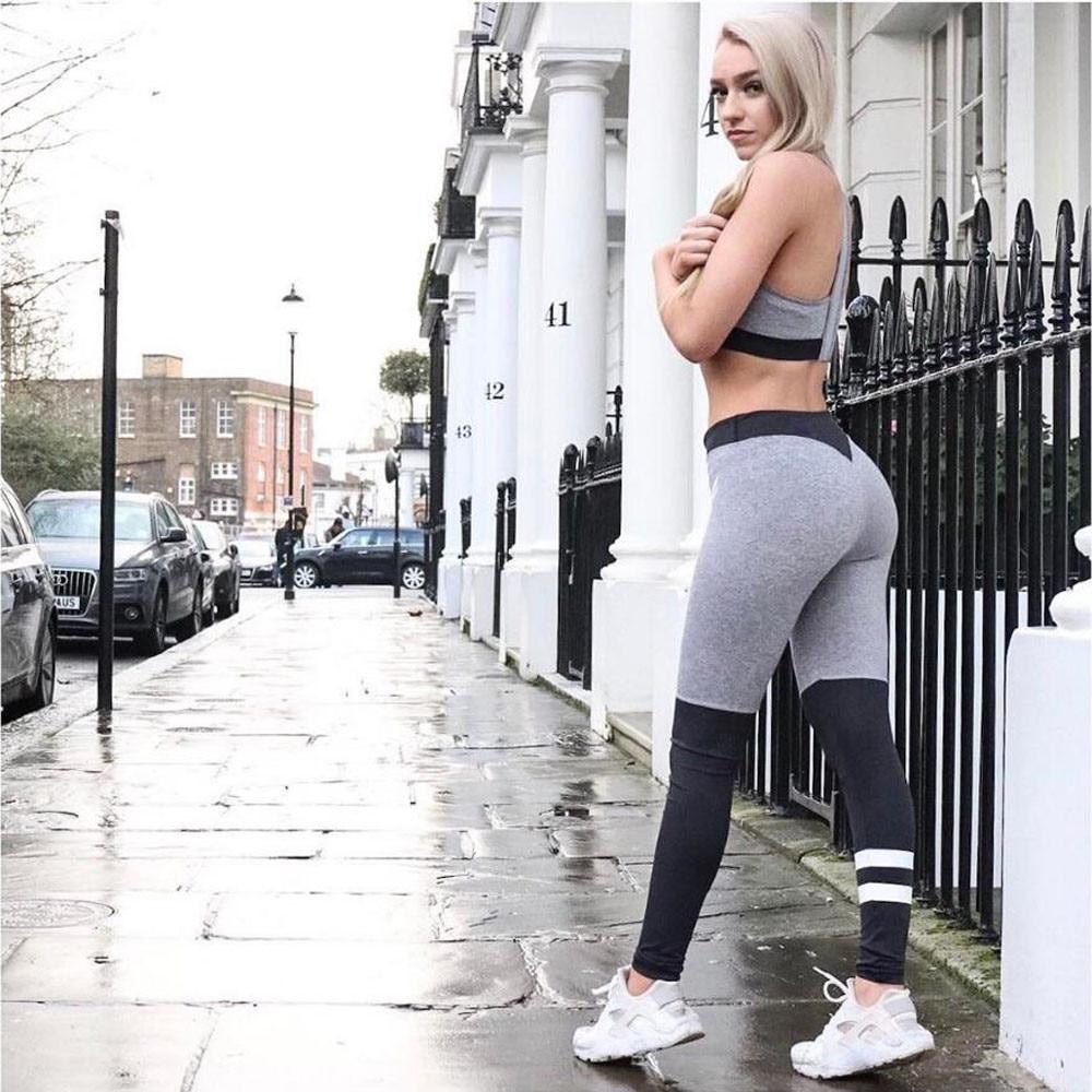 Women Sports Gym Yoga Workout Mid Waist Running Pants Fitness Elastic Leggings Gym Mid Waist !