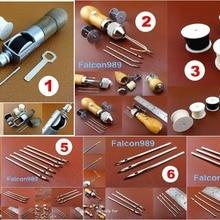 7 видов кожаного ремесла швейная строчка Автоматическая блокировка Speedy Stitcher шило катушка с нитками набор инструментов Иглы-резной штамповочный нож