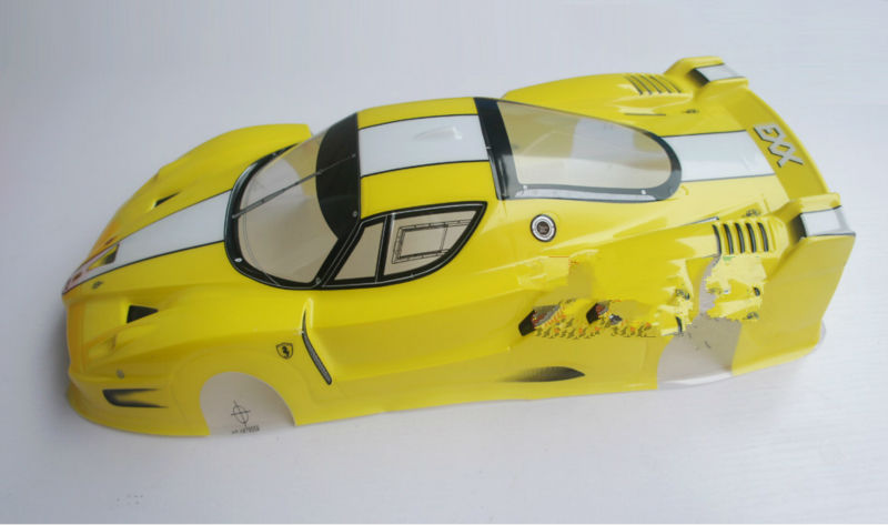 S041 1 10 1 10 PVC painted body shell for 1 10 RC hobby racing car