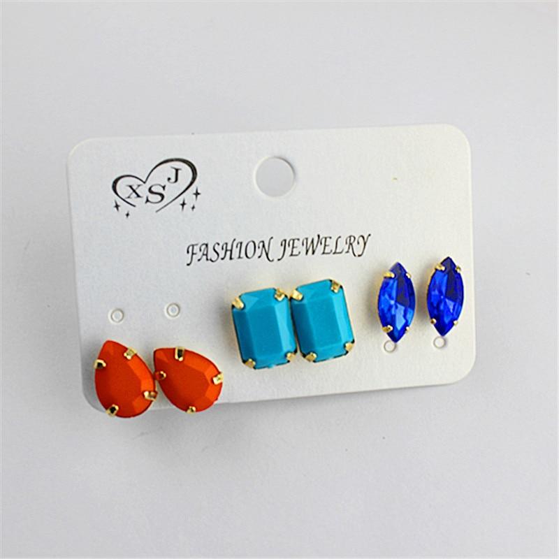 Cantik gaya baru populer eropa dan amerika wanita grosir perhiasan pabrik  gadis pesta ulang tahun orange biru mint hijau co 53db68846d