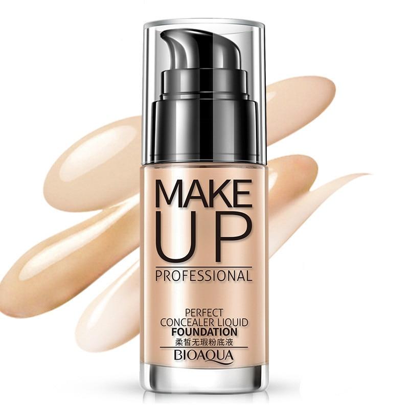 makeup foundation oil control oil moisturizing waterproof lasting concealer BB cream facial foundation