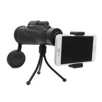 12x50 Okular Teleskopu Zoom Len Obiektyw Obiektyw Aparatu z Telefonu Posiadacza Telefonu Uniwersalny dla Smartfonów Widok Camping