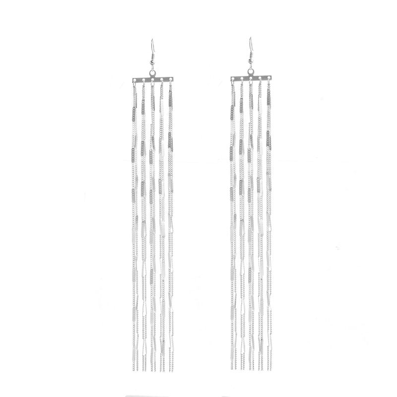 Ingesight.Z Böhmen Long Tassel Drop Dangle Earring för kvinnor - Märkessmycken - Foto 4