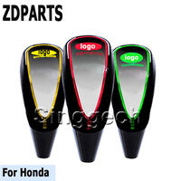 ZDPARTS Car Gear Shift Knob Touch Sensor Colourful LED Light 5/6 Speed For Honda Civic 2006 2011 Accord Fit CRV HRV City Jazz