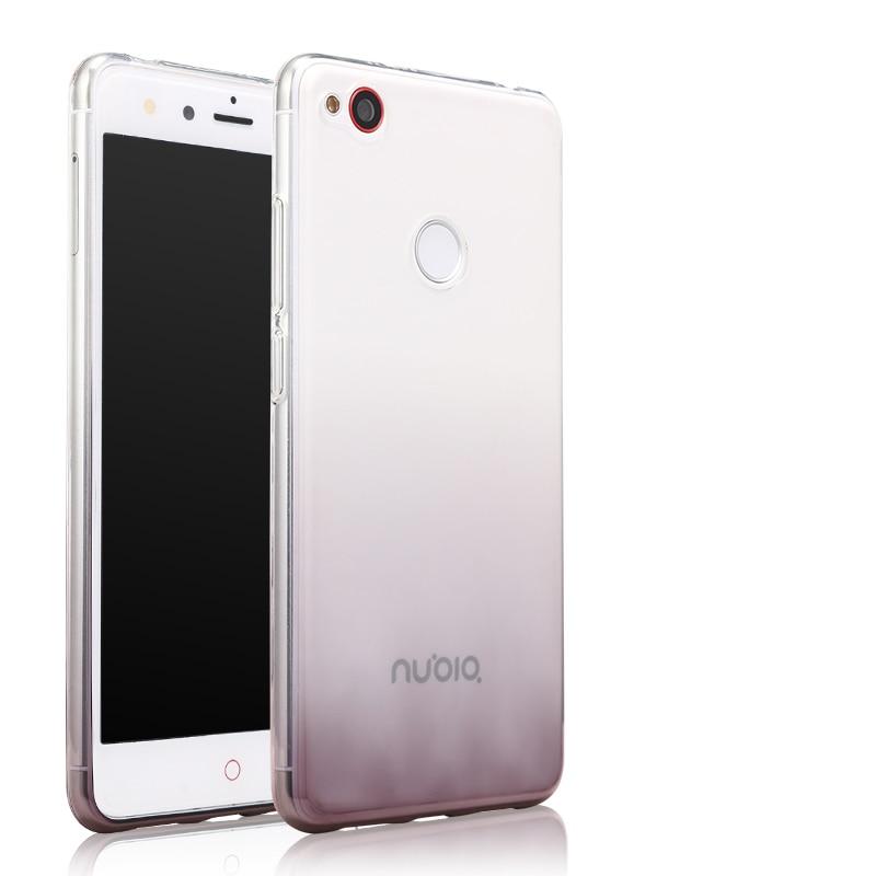 ZTE nubia Z11 mini-fodral Transparent mjukt silikonskal 5,0 - Reservdelar och tillbehör för mobiltelefoner - Foto 2