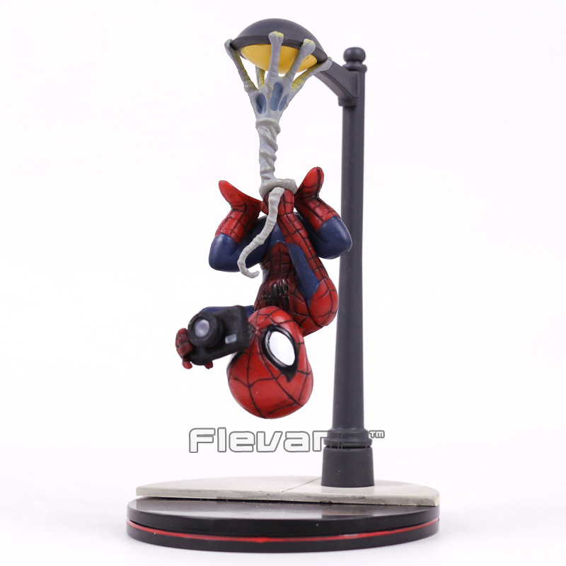New Arrival Spider-Man Homecoming The Spiderman PVC Figure Collectible Model Toy 14cm