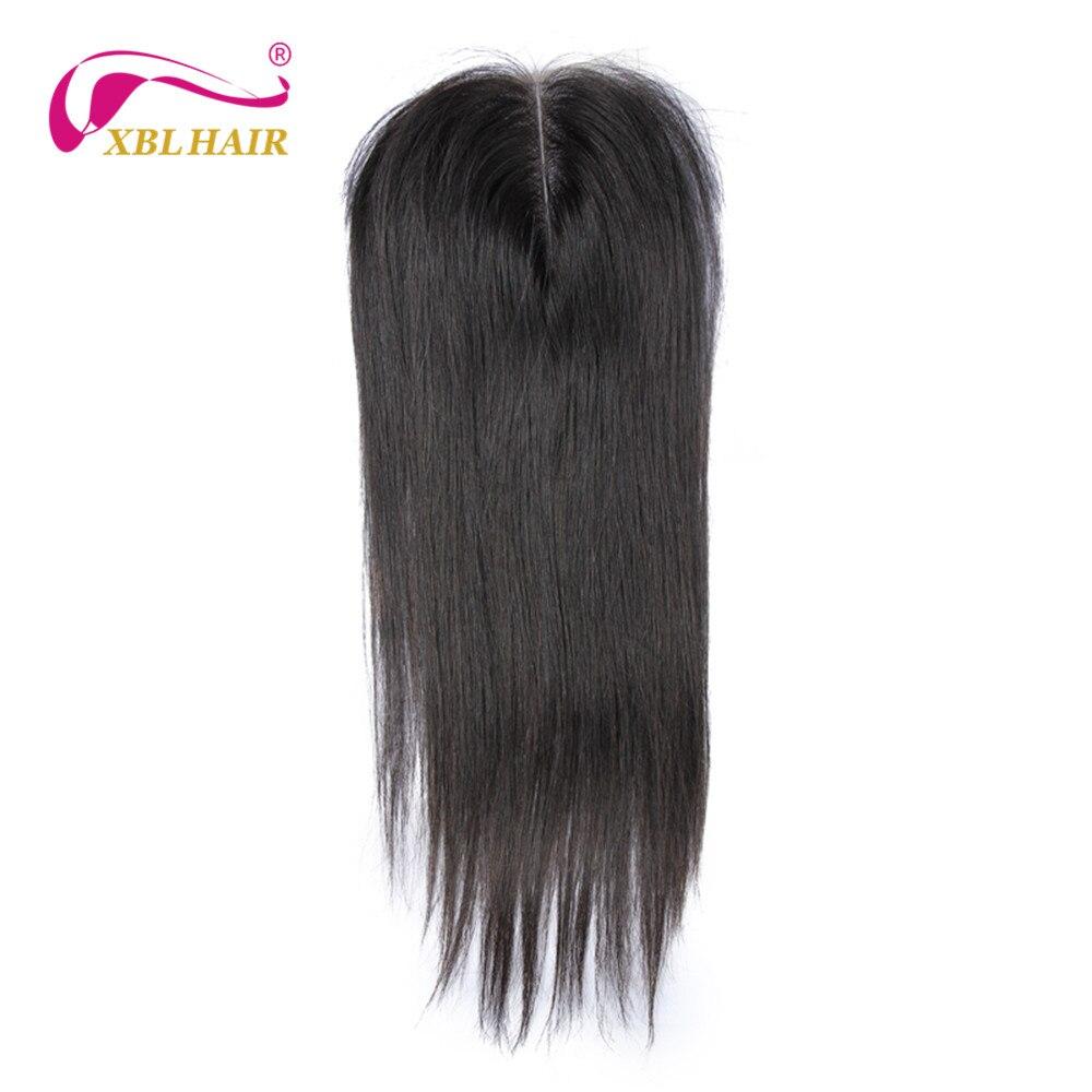 XBL font b HAIR b font Peruvian Straight font b Hair b font Lace Closure 100