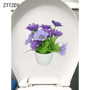 ZTTZDY 22.4*23CM Purple Flower