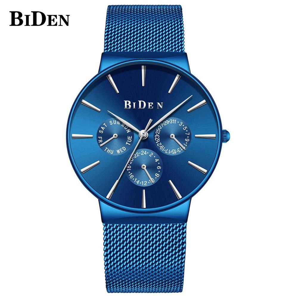 Biden Military Quartz Watch Men Top Brand Luxury Fashion