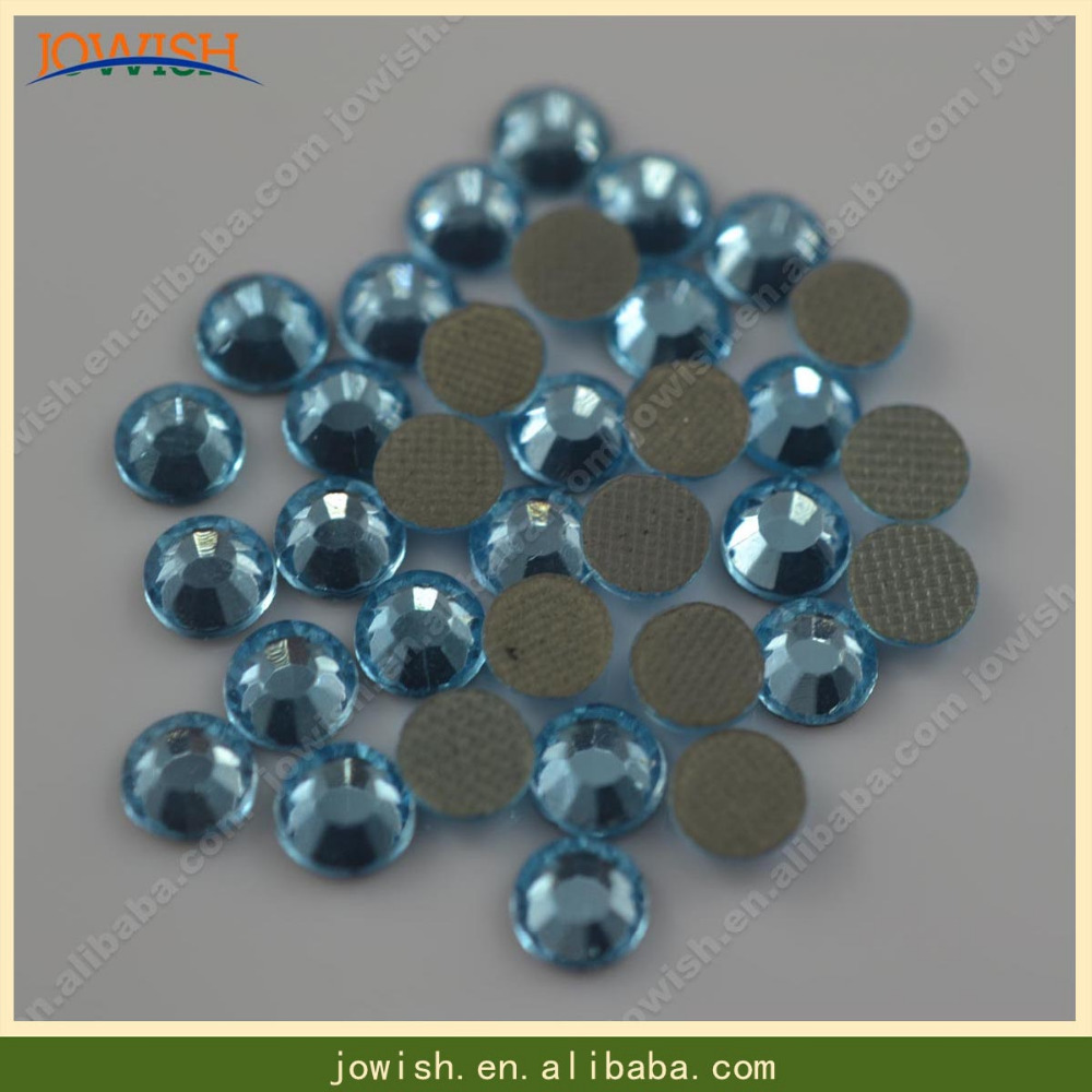 SS20 Aquamarine 100gross   bag Iron on transfer korean crystal rhinestone  DIY strass stone for clothes Mobile phone-in Rhinestones from Home   Garden  on ... 42985f8a784f