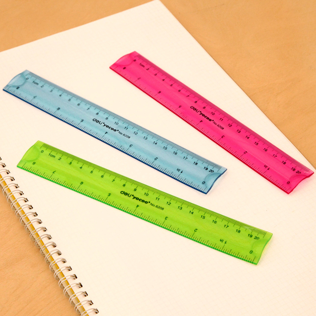 US $9 0 |Ann Creative Stationery Candy colored Soft Feet For Students Meter  Stick Ruler 20cm 30cm Ruler Korea School Supplies Stationery-in Rulers