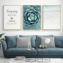 цены на Wall Art Canvas Painting Sea Picture Posters And Prints Cuadros Decoracion Wall Pictures For Living Room Nordic Poster Unframed   в интернет-магазинах