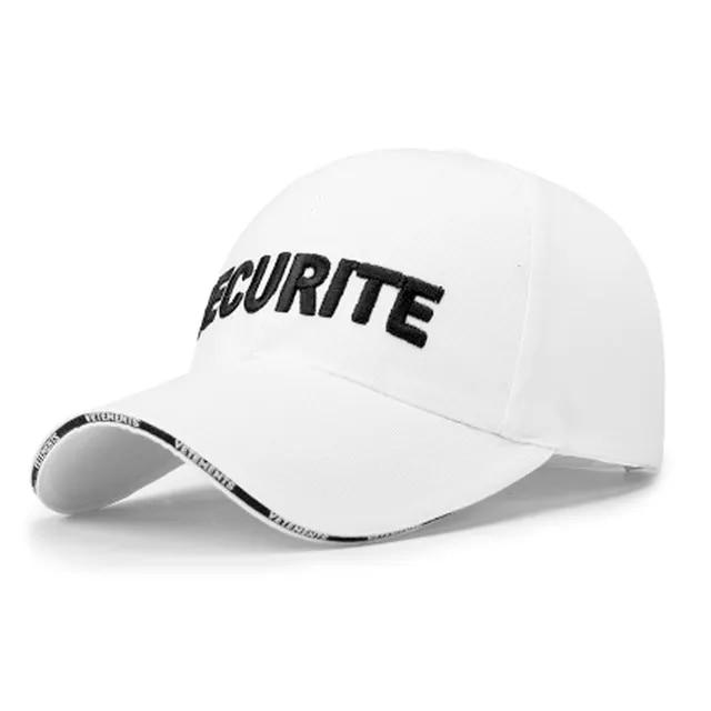 2019 New SECURITE letter embroidery baseball cap women snapback hat adjustable men fashion Dad hats wholesale Casquette Gorras