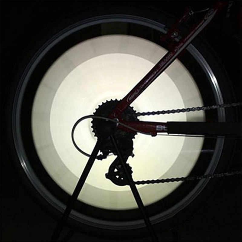 12 pièces vélo VTT roue équitation jante a parlé montage Clip Tube voyant d'avertissement bande réflecteur réfléchissant extérieur blanc 75mm