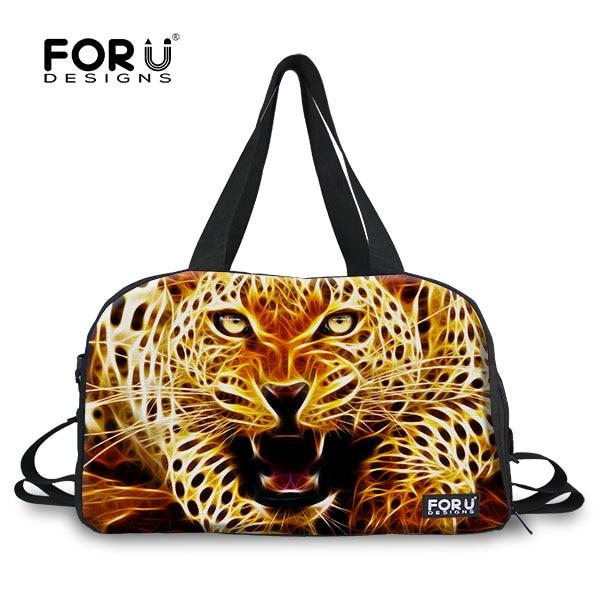 все цены на FORUDESIGNS Fashion Large Capacity Leopard Women Travel Bag Female Tote Travel Duffle Bags Weekend Luggage Bag Overnight Bags