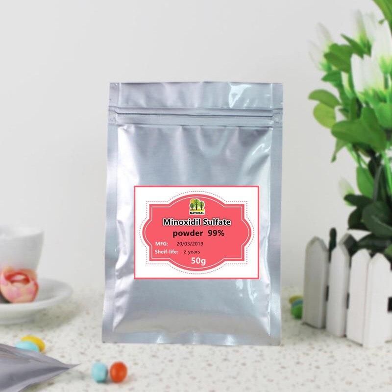 50g-1000g High-quality Pure 99% Minoxidil Sulfate Powder , Minoxidil,hair Growth Alopecia Treatment,free Shipping