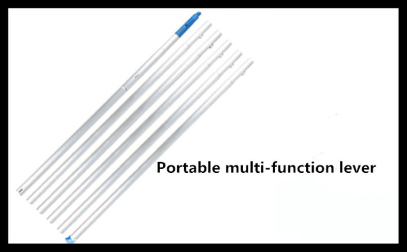 Five meters four pieces sets of extended long branch telescopic rod no cutting head
