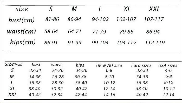 size chart 32