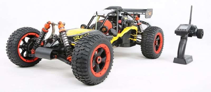 Free Shipping!!! Baja 5B 4WD 27.5CC Engine Gas power remote car RC