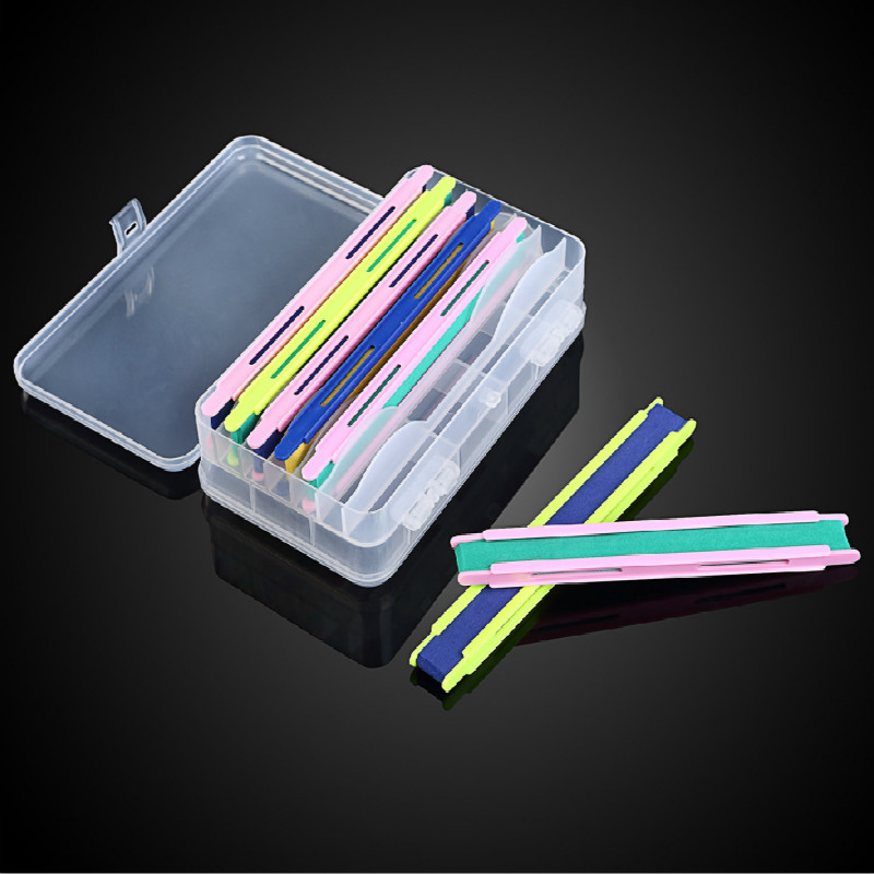 Constructive High Quality Double-sided Fishing Line Wire Winding Board With Box Fishing Tools