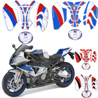 For BMW S1000RR S1000R R S 1000 RR 2012 2014 Motorcycle Fairing Head Epoxy resin Sticker 3D Gel Protector Tank