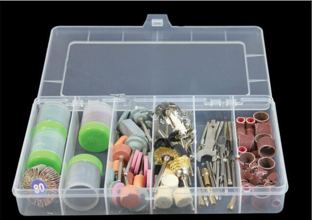 161Pcs Bit Set With A Box Suit Mini Drill Rotary Tool & Fit Dremel+box Free Shipping
