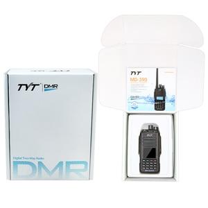 Image 5 - TYT MD 390 DMR ווקי טוקי MD390 VHF 136 174MHz GPS שתי דרך רדיו IP67 עמיד למים משדר + תכנות כבל CD & אפרכסת