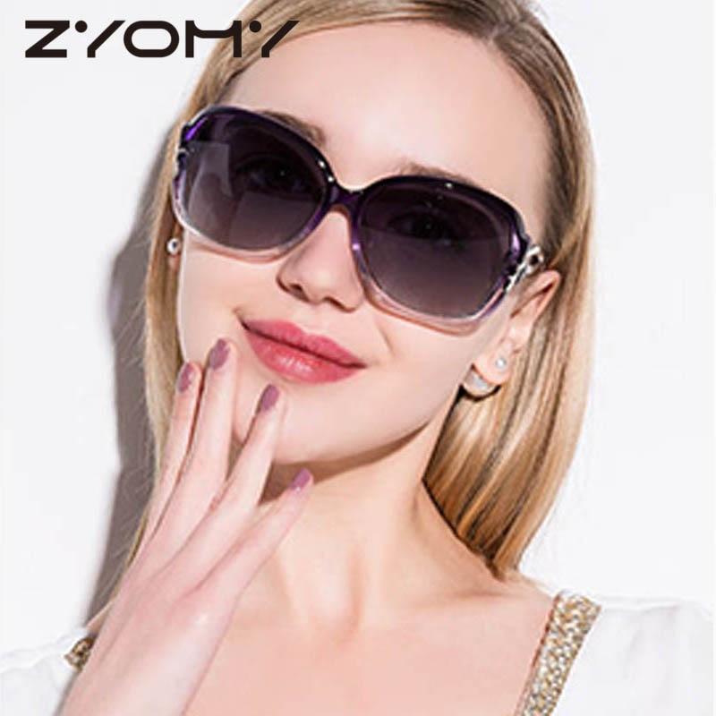 Rijden Bril Merk Designer Eyewear Accessoires Ovale Vrouwen Zonnebril - Kledingaccessoires - Foto 1