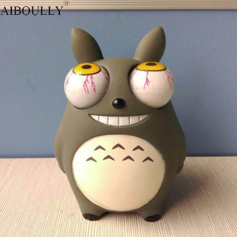 Funny Cartoon Animal Small Squeeze Antistress Toy Pop Out Eyes Doll Stress Relief Venting  Joking Decompression Toy