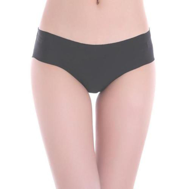 d110c803ff6b 2018 Women Invisible Seamless Soft Thong Lingerie Boyshort Female Briefs  Hipster Solid Underwear