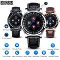 BIBINBIBI Мужские Женские умные часы с поддержкой камеры Bluetooth sim-карта памяти SD Smartwatch наручные часы для Android телефон кольцо для пары + коробка