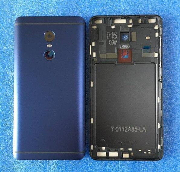 Axisinternational Pour 5.5 Xiaomi Redmi note 4 note 4 MediaTek MTK Helio X20 Batterie cas de Couverture Arrière + côté touches + lentille en verre